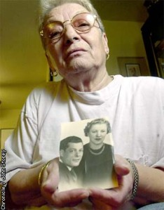 The Bay Area Red Cross Chapter helped Rosa (Pictured) find out what happened to her parents and baby brother during WWII